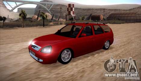 VAZ Lada Priora 2171 para GTA San Andreas