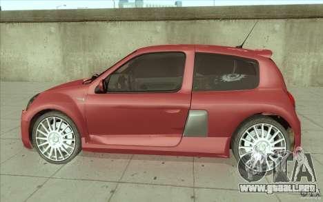 Renault Clio V6 para GTA San Andreas left