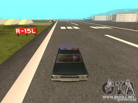 Police Savanna para la visión correcta GTA San Andreas