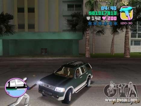 Ford Explorer para GTA Vice City