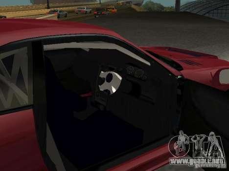 Nissan Skyline GT-R BCNR 33 para GTA San Andreas vista hacia atrás