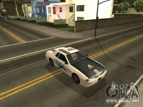 Vinilo para Elegy para GTA San Andreas tercera pantalla