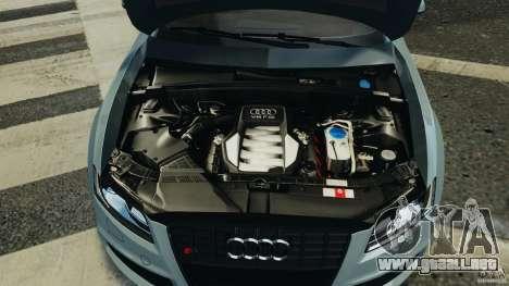 Audi S5 v1.0 para GTA 4 vista desde abajo