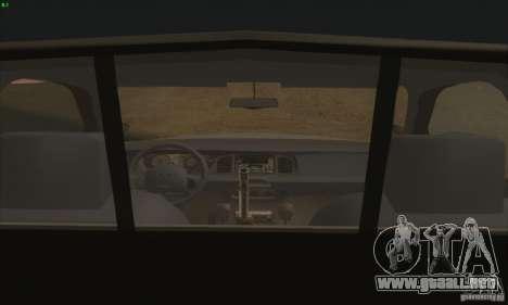 Ford Crown Victoria Colorado Police para GTA San Andreas vista posterior izquierda