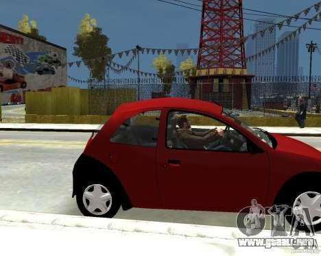 Ford Ka 1999 para GTA 4 visión correcta
