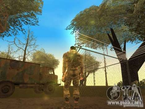 DEGTYAREV de Stalker para GTA San Andreas segunda pantalla