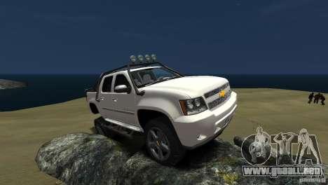 Chevrolet Avalanche 4x4 Truck para GTA 4
