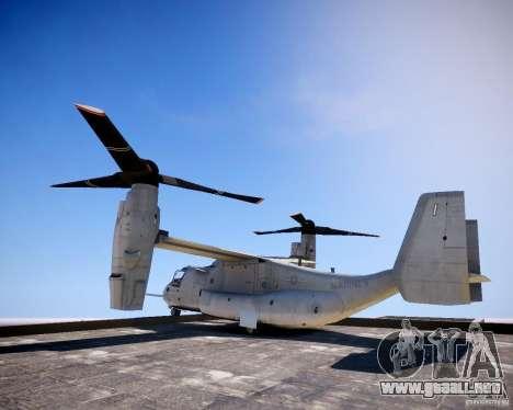Osprey MV-22 para GTA 4 left