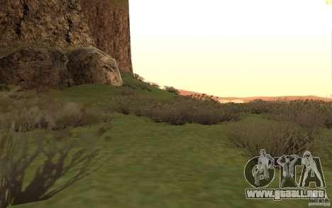 New desert para GTA San Andreas sexta pantalla