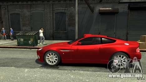 Aston Martin Vanquish S v2.0 teñido para GTA 4 left
