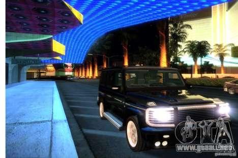 Graphic settings para GTA San Andreas sexta pantalla