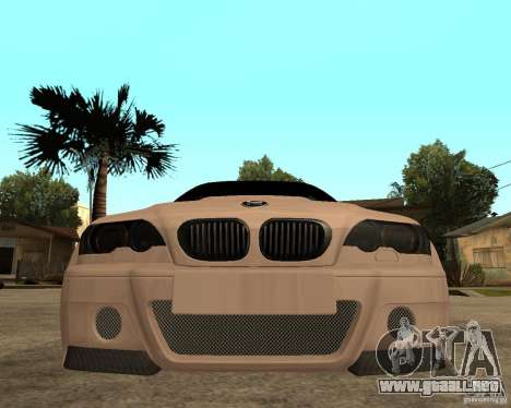 BMW M3 CSL E46 G-Power para la visión correcta GTA San Andreas