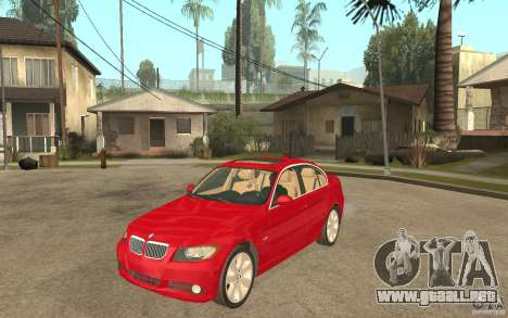 BMW 330i E90 v.2.0 para GTA San Andreas