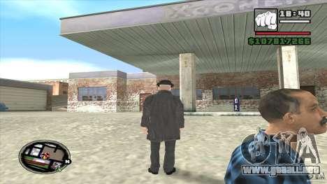 Asesino en serie para GTA San Andreas sucesivamente de pantalla