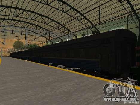 Modificación del ferrocarril III para GTA San Andreas undécima de pantalla