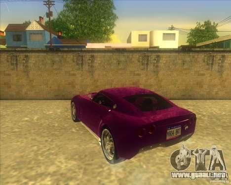 Melling Hellcat para la visión correcta GTA San Andreas