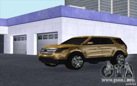 Ford Explorer Limited 2013 para GTA San Andreas