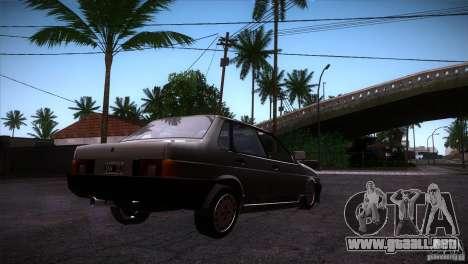 Fiat Regata para la visión correcta GTA San Andreas