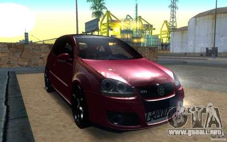 VolksWagen Golf GTI MK5 para GTA San Andreas left