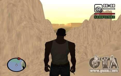 Mountain map para GTA San Andreas sexta pantalla