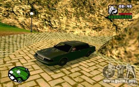 ENBSeries por Blaid para GTA San Andreas sucesivamente de pantalla