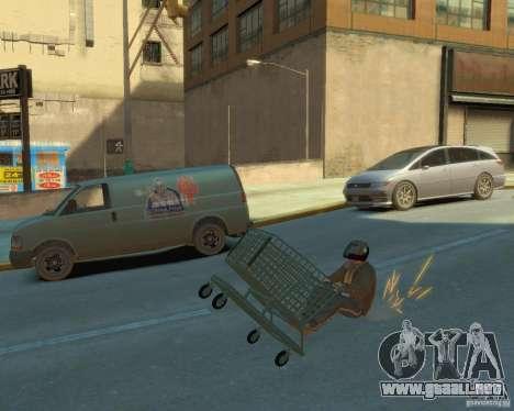 Carretilla para GTA 4 vista hacia atrás