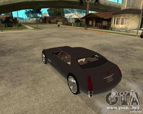 Cadillac Sixteen para GTA San Andreas left