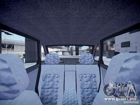 LADA 21103 v2.0 para GTA 4 vista interior