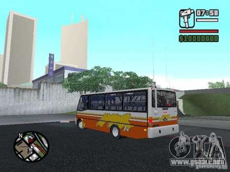 Ciferal Agilis M.Benz LO-814 BY GTABUSCL para GTA San Andreas left