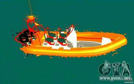 Inferno orange para GTA San Andreas left