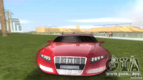 Audi Nuvolari Quattro para GTA Vice City vista interior