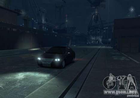 Hatchback LADA priora para GTA 4 visión correcta
