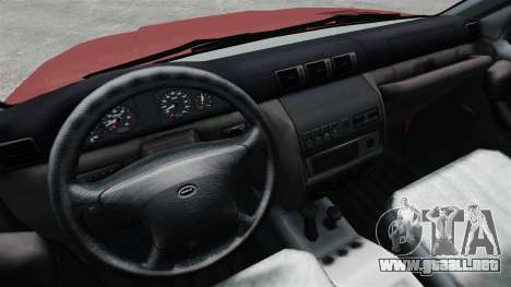 23632-UAZ Patriot para GTA 4 vista interior