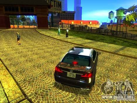ENBSeries by JudasVladislav para GTA San Andreas sucesivamente de pantalla