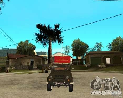 UAZ 469 desfile para GTA San Andreas