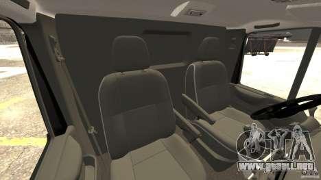 Ford Transit NY Airport Service [ELS] para GTA 4 vista interior