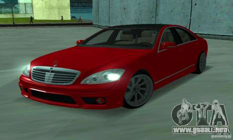 Mercedes-Benz S65 AMG Estate Edition para GTA San Andreas left