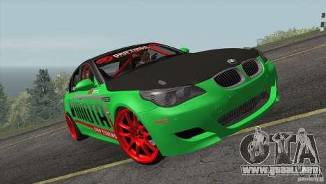 BMW M5 E60 Darius Balys para GTA San Andreas