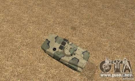 Camo BMP-1 para la visión correcta GTA San Andreas