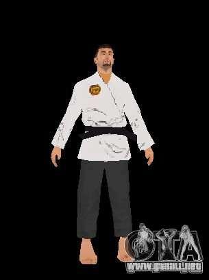 Reteksturirovannye karate para GTA San Andreas
