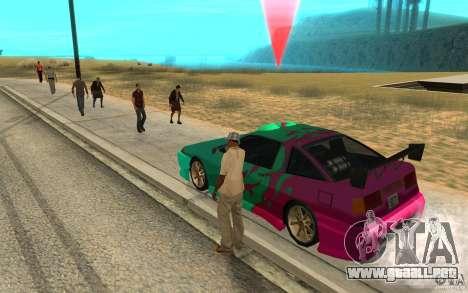 El patrón de diapositivas para GTA San Andreas