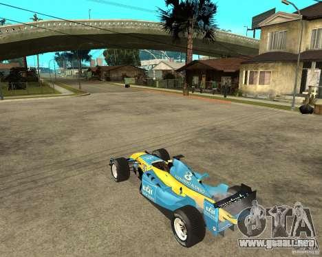 Renault F1 para GTA San Andreas left
