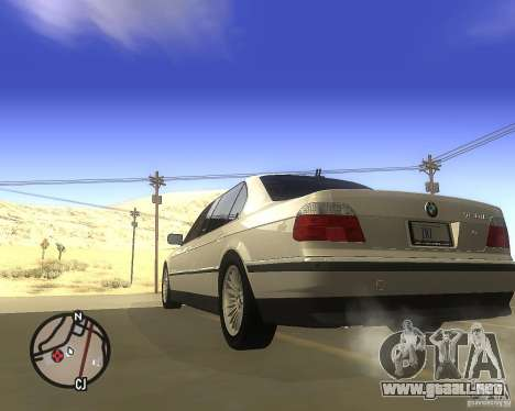 BMW 750il Limuzin para GTA San Andreas left