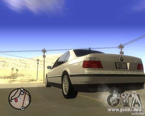 BMW 750il Limuzin para GTA San Andreas left