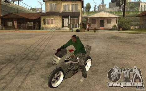 Streetfighter NRG 500 Snakehead v2 para GTA San Andreas