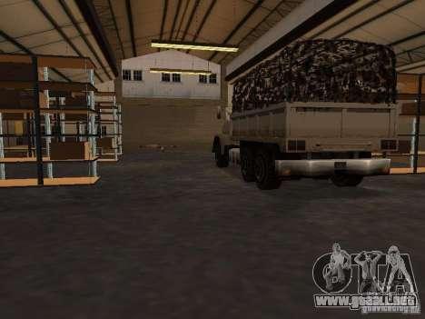 La base militar revivida en muelles v3.0 para GTA San Andreas tercera pantalla