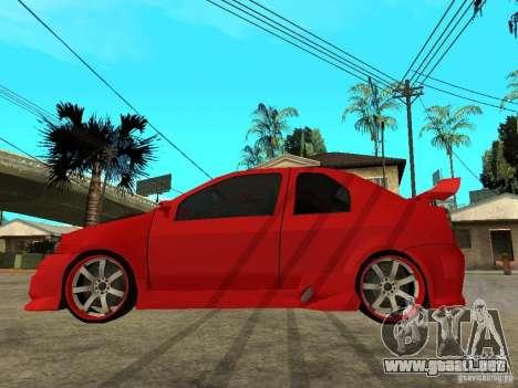 Dacia Logan Tuned v2 para GTA San Andreas left