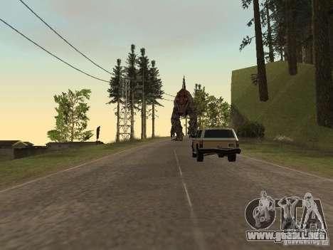 Dinosaurs Attack mod para GTA San Andreas octavo de pantalla