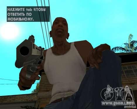 Magnum 22.2 para GTA San Andreas tercera pantalla