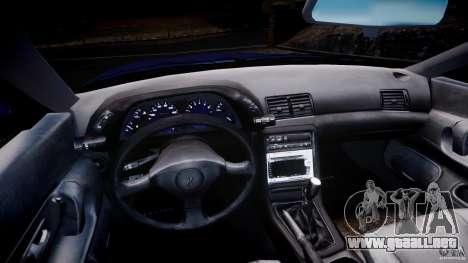 Nissan Skyline R32 GTS-t 1989 [Final] para GTA 4 vista hacia atrás